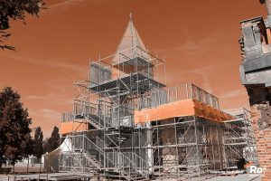 Spezialgerüst - Kirchentag IV